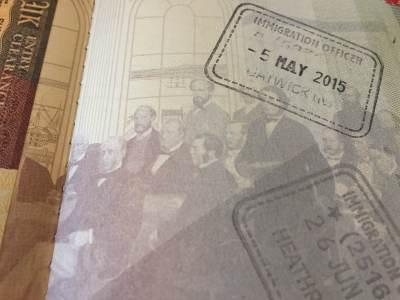 UK Passport Stamps